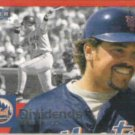 MIKE PIAZZA 2000 Fleer Tradition Dividends Insert #12 of 15D.  METS