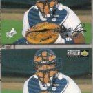 MIKE PIAZZA 1994 UD CC Silver Sig. List Insert w/ sister.  DODGERS