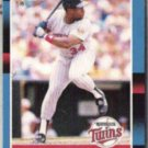 KIRBY PUCKETT 1988 Donruss #368.  TWINS