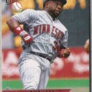 KIRBY PUCKETT 1993 Fleer Ultra #236.  TWINS