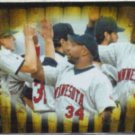 KIRBY PUCKETT 1996 Pinnacle Zenith #149.  TWINS