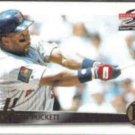 KIRBY PUCKETT 1995 Pinnacle Summit #32.  TWINS