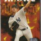 ANDY PETTITTE 1998 Fleer Smoke and Heat #308.  YANKEES