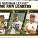 ALBERT PUJOLS 2006 Topps #UH141 w/ D. Lee, A. Jones.  CARDS