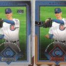 MARK PRIOR 2004 UD Diamond Coll. Silver Honors Ins. w/ sister.  CUBS