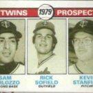 SAM PERLOZZO 1979 Topps Twins Prospects #709.  TWINS