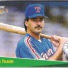 RAFAEL PALMEIRO 1993 Score Select #162.  RANGERS