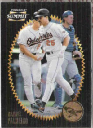 RAFAEL PALMEIRO 1997 Pinnacle Summit #123.  ORIOLES