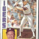 LANCE PARRISH 1984 Topps #640.  TIGERS