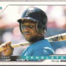 TERRY PENDLETON 1996 Score #49.  MARLINS