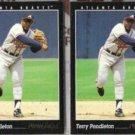 TERRY PENDLETON (2) 1993 Pinnacle #60.  BRAVES