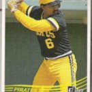 TONY PENA 1984 Donruss #186.  PIRATES