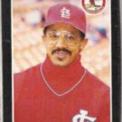 TONY PENA 1989 Donruss #163.  CARDS