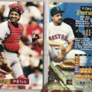 TONY PENA (2) 1994 Stadium Club #71.  RED SOX