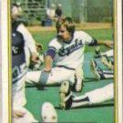 DAN QUISENBERRY 1982 Fleer #422.  ROYALS