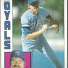 DAN QUISENBERRY 1984 Topps #570.  ROYALS