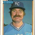 DAN QUISENBERRY 1984 Purina #25 of 33.  ROYALS