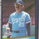 DAN QUISENBERRY 1986 Leaf #208.  ROYALS