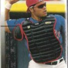 IVAN RODRIGUEZ 2000 UD Solid Gold Gallery Insert #G11.  RANGERS