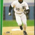 TIM RAINES 1993 Score Select #236.  WHITE SOX