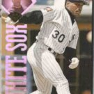 TIM RAINES 1995 Leaf #208.  WHITE SOX