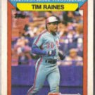 TIM RAINES 1988 Topps KMart #19.  EXPOS