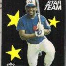 TIM RAINES 1987 Fleer All Star #12 of 12.  EXPOS