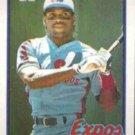 TIM RAINES 1989 Topps #560.  EXPOS
