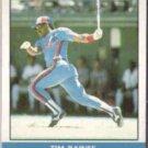 TIM RAINES 1987 Fleer Record Setters #30 of 44.  EXPOS