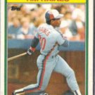 TIM RAINES 1988 Topps Kay Bee #24 of 33.  EXPOS