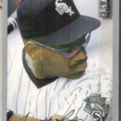 TIM RAINES 1996 UD CC Silver Signature Ins. #95.  WHITE SOX