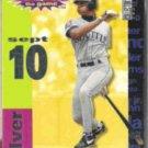 ALEX RODRIGUEZ 1995 Crash the Game Silver Insert .  MARINERS
