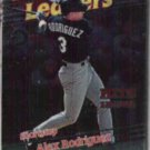 ALEX RODRIGUEZ 1998 Topps Foil Leader #228.  MARINERS