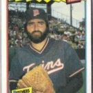 JEFF REARDON 1987 Fleer Best Odd #33 of 44.  TWINS