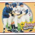 NOLAN RYAN 1990 UD Heroes Insert #10.  METS