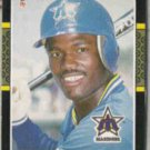 HAROLD REYNOLDS 1987 Donruss #489.  MARINERS