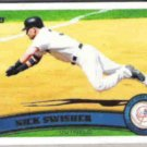 NICK SWISHER 2011 Topps #279.  YANKEES