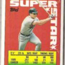 CAL RIPKEN 1990 Topps Star Stickers Mini #44.  ORIOLES