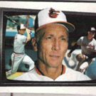 CAL RIPKEN SR. 1989 Bowman Big #260 w/ Cal + Bill.  ORIOLES