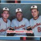 CAL RIPKEN SR. 1988 Donruss Ripken Family #625.  ORIOLES
