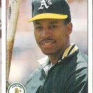 WILLIE RANDOLPH 1990 Upper Deck #704.  A's
