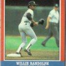 WILLIE RANDOLPH 1987 Fleer AS Odd #35 of 44.  YANKEES