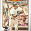 WILLIE RANDOLPH 1988 Topps AS Glossy #3 of 22.  YANKEES