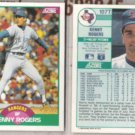KENNY ROGERS (2) 1989 Topps Traded #107T.  RANGERS