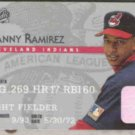 MANNY RAMIREZ 1995 Studio #32.  INDIANS