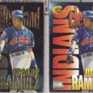 MANNY RAMIREZ 1997 Circa Boss + Super Boss Inserts.  INDIANS
