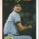 DAVE RIGHETTI 1987 Fleer Best #34 of 44.  YANKEES