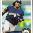 RICKIE WEEKS 2011 Topps #266.  BREWERS