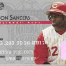 DEION SANDERS 1995 Studio #20.  REDS