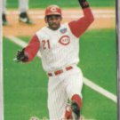 DEION SANDERS 1997 Fleer SI #97.  REDS